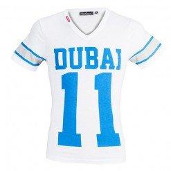 Dubai 11 Tshirt White ARQB2006