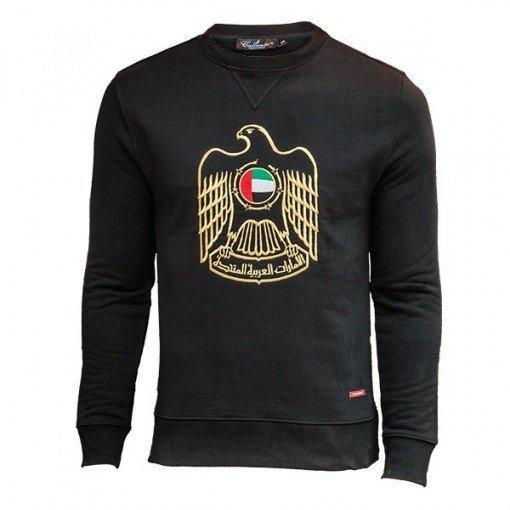 Emblem Sweatshirt Black ARQB2018
