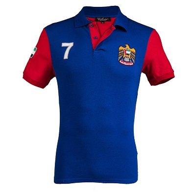 Caliente Polo Tshirt Royal Blue ARQC3425