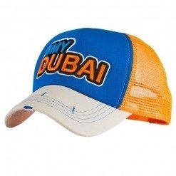 #My Dubai White/Blue/Orange