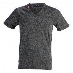 Basic DOS Tshirt Grey Melange