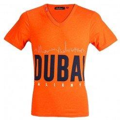 Skyline Tshirt Spicy Orange