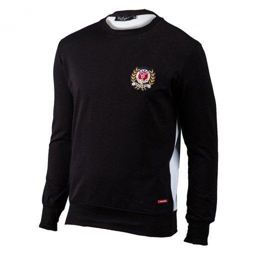 Crown Sweatshirt Black/White ARQF8450
