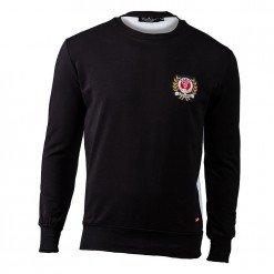 Crown Sweatshirt Black/White ARQF8451