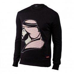 Arab Man Sweatshirt Black ARQF8455