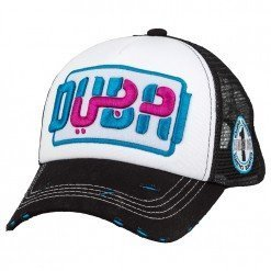 Dubai Brand LE Bk/Wt/Bk - Caliente Caps