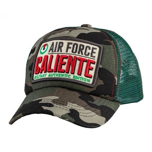 Air Force Authentic Camouflage/Green - Caliente Caps