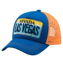 Las Vegas Blue:Blue:Orange - Caliente Cap DSC_0893