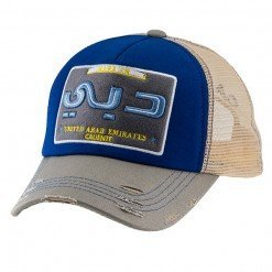 Made in Dubai Grey:Blue:Grey - Caliente Caps MAAN9381